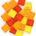 Softglas quadratisch 1x1 cm