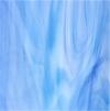 Tiffanyglas hellblau-blau geflammt opak