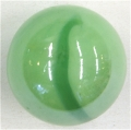 Glaskugel (Murmel) grün
