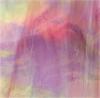 Tiffanyglas rosa iriseé geflammt opak