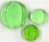 Glasnuggets hellgrün glanz