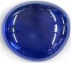 Glassnugget ultramarinblau verspiegelt