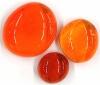 Glasnuggets orange glanz