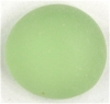 Glasnugget hellgrün matt